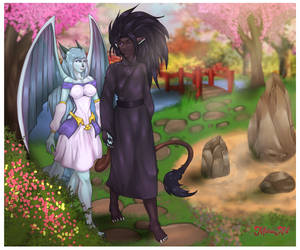Peace through the Garden (Commission)