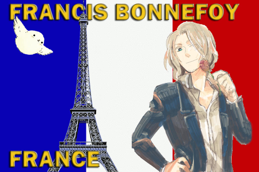 France - Francis Bonnefoy with Pierre by Mizu1993