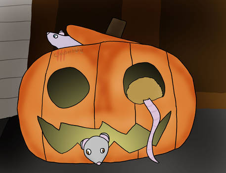 Rat O Lantern (Rattober 11) (DU)