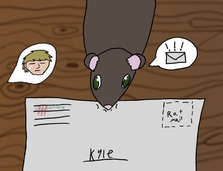 Mail Rat (Rattober 13) (DU)