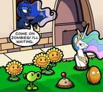 Luna vs Zombies