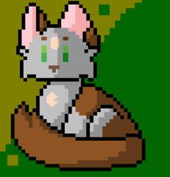 Cat Pixel Art by ashethetrashe