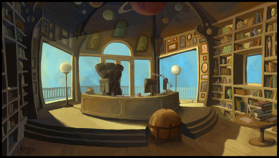 Principal S Office By Evilpirate On Deviantart
