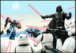Optimus vs Vader