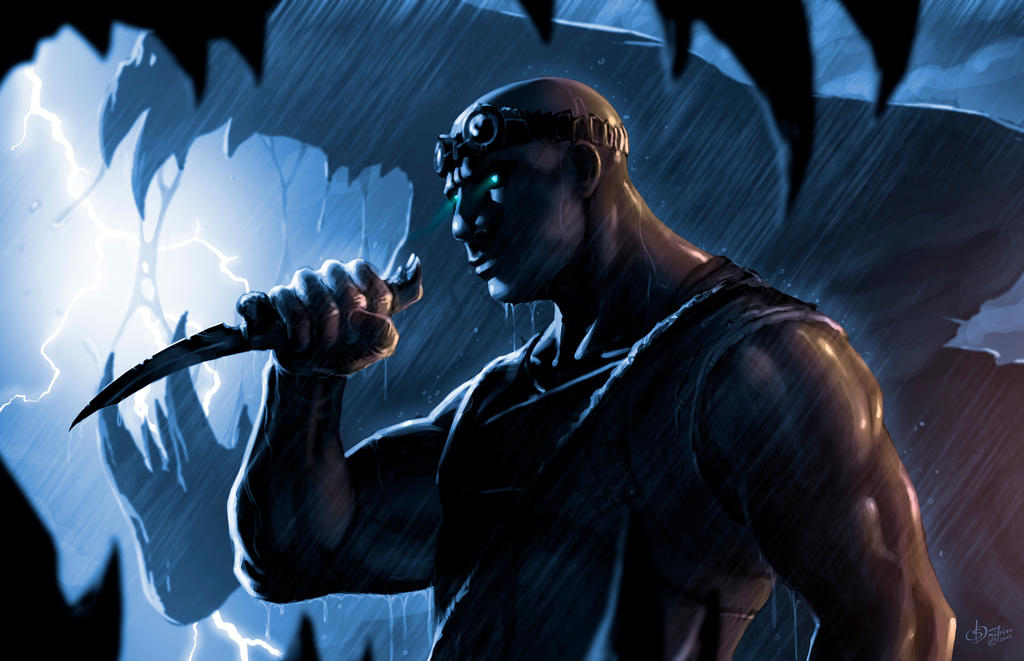 RIDDICK by EvilPirate