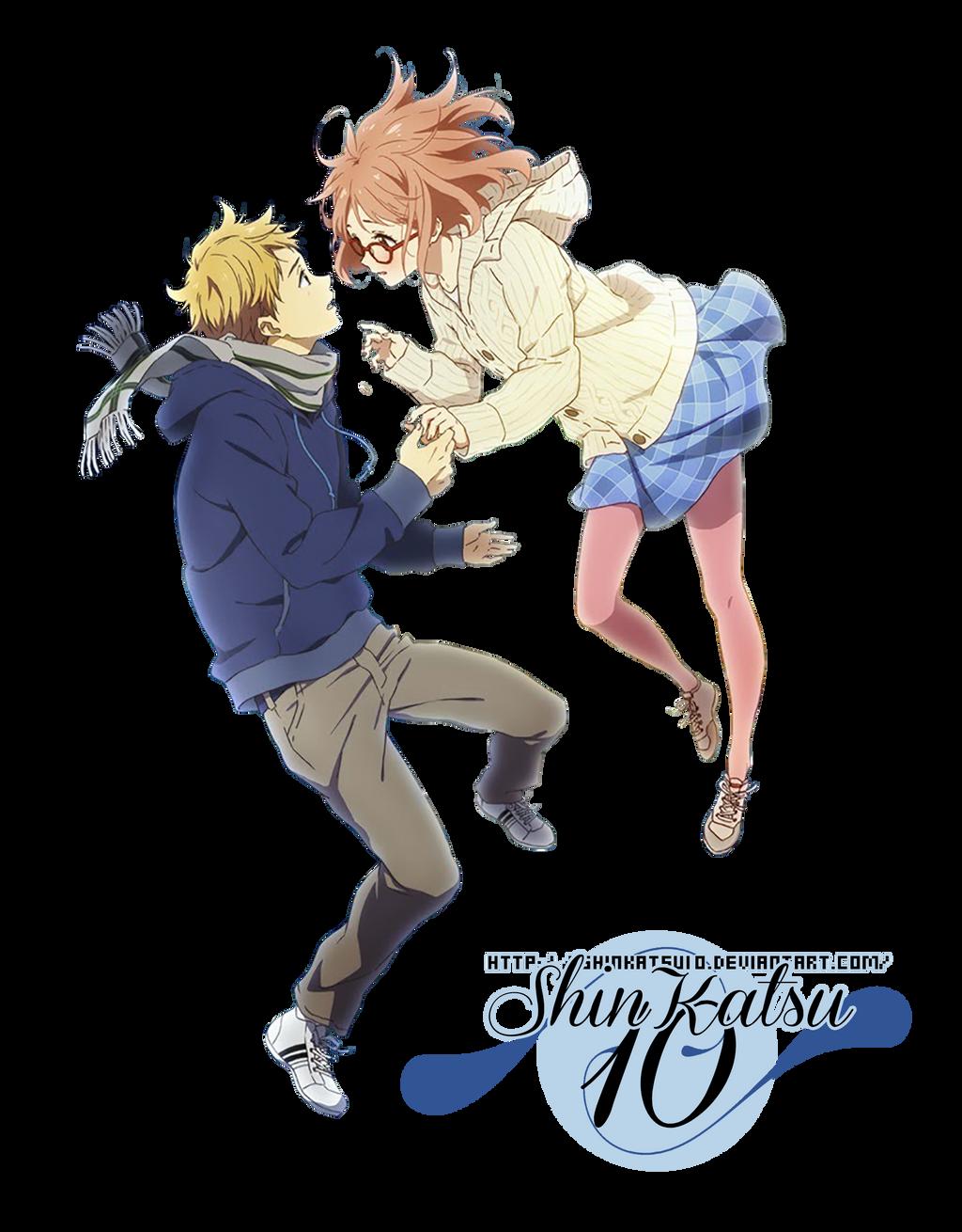 Renders anime _render_11__kyoukai_no_kanata_by_shinkatsu10-d8ib05a