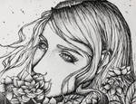 Flower girl 01 by Aoleev