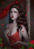 Temptation (light NSFW) by Aoleev