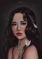 Female Portrait by Aoleev