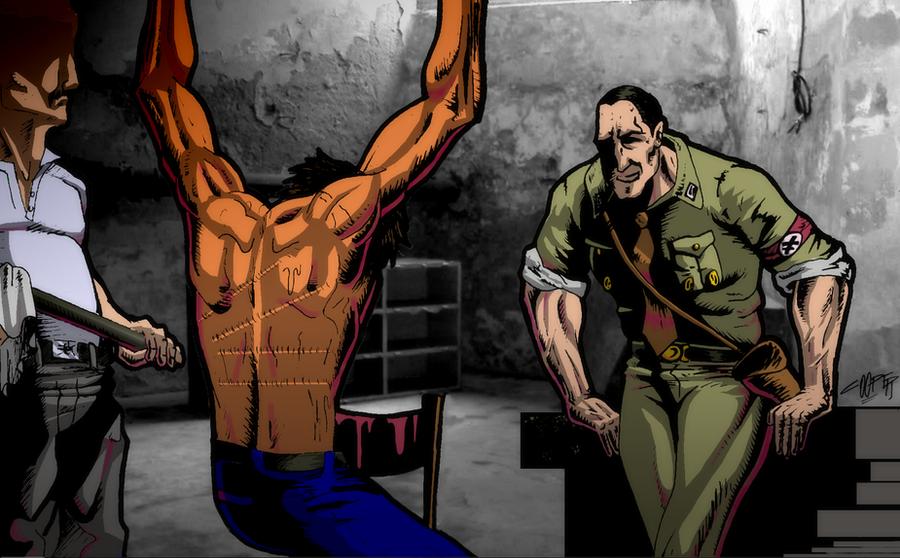 Nazi Torture Art