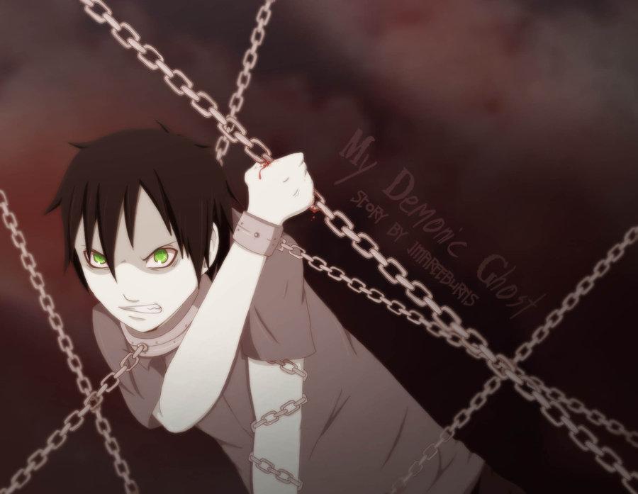 My Demonic Ghost - Chains by JacintaMaree
