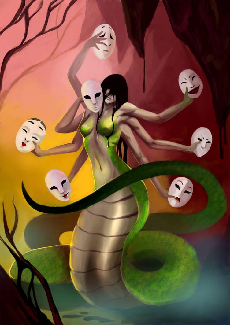 My Demonic Ghost - Mother by JacintaMaree