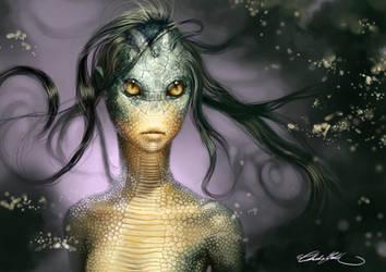 My Demonic Ghost - Envy by JacintaMaree