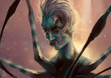 My Demonic Ghost - Greed by JacintaMaree