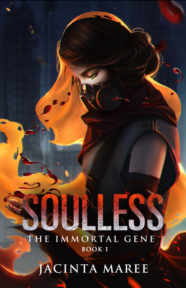 Soulless: Cover Reveal #2 by JacintaMaree