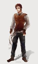 Time Weaver: The Golden Boy by JacintaMaree