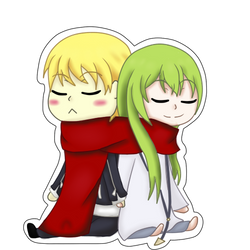 Gil and Enkidu by AnjuSendo