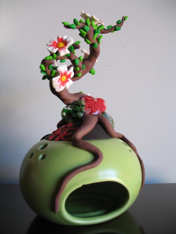 Fimo Bonsai tree by FunkadelicPsychoFish