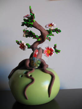 Fimo Bonsai tree 2
