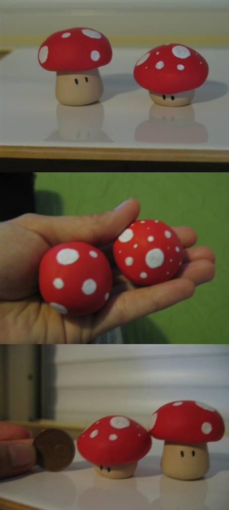 Funky mushrooms by FunkadelicPsychoFish