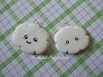 Cloud Charms 1 and 2 - White