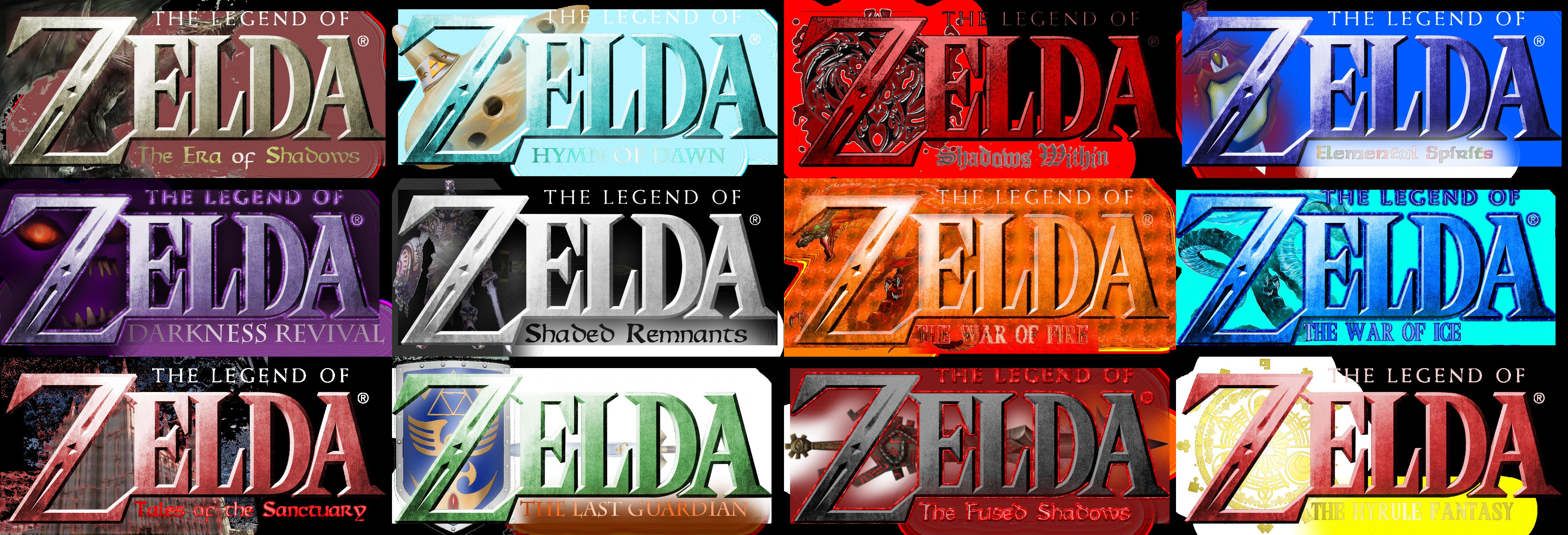 Twelve Legend of Zelda Fan Logos List 2 by Jar3D226 on DeviantArt