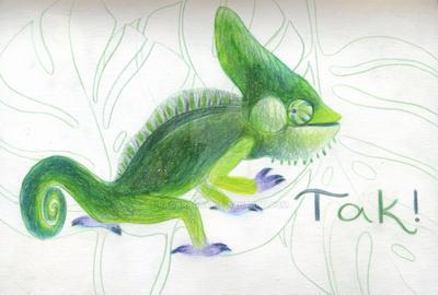 Chameleon by RagAragno