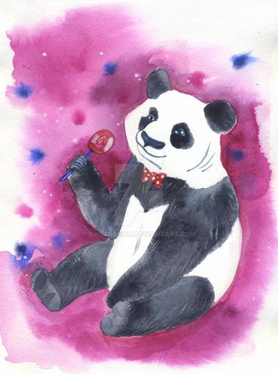 dreamy Panda by RagAragno