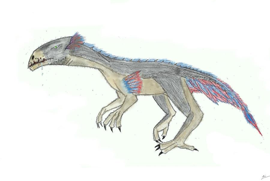 Allosaurus Evo. - Velocisaurus by ArticZephyr