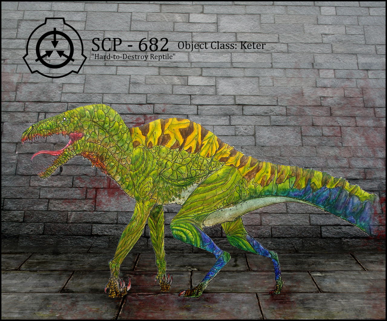 Compter en image - Page 30 Scp_682_by_articzephyr-d5o320q