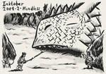 Dragon Inktober - 2 - Mindless