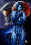 Halo 5 Guardians - Cortana by N13galvao