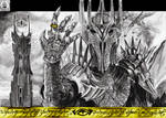 Sauron the Dark Lord of Mordor by N13galvao