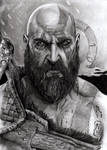 Kratos - God of War by N13galvao
