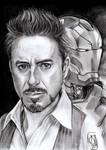 Tony Stark - Iron Man i love 3000