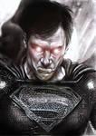 Black Superman by N13galvao