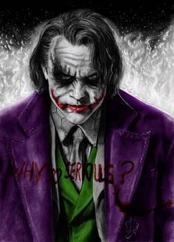 Joker Heath Ledger - Legend