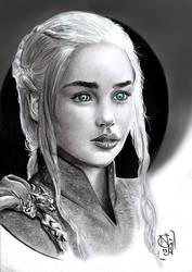 GoT - Daenerys Targaryen - Mother of Dragons by N13galvao