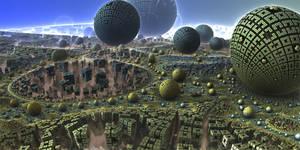 Rubik's Spheres by Les-Monts