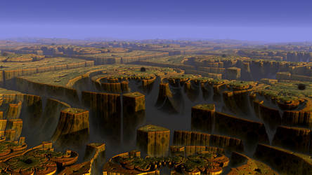 Land of a thousand canyons