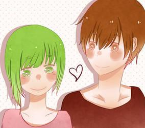 5/9 reirei and Ruby by Reiaika