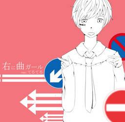 Girlving to  the Right - Teruteru by Reiaika