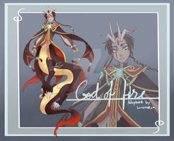 [Auction/Closed] God of fire - Dragon Adoptable
