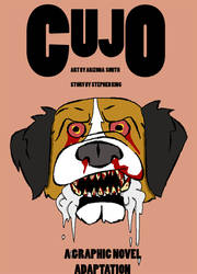 Cujo Graphic Novel Cover 2 by AFlahrman