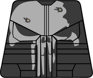 Marvel's the Punisher Lego Minifigure Decal