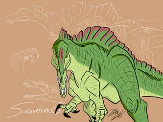Suchomimus by AFlahrman