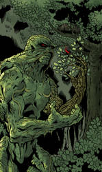 Swamp Thing by davidjcutler