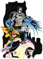 The Dynamic Duo by davidjcutler