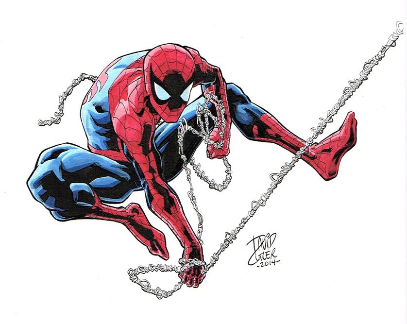 Spider-Man by davidjcutler