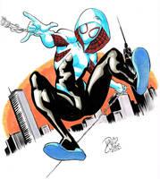 Spider-Gwen by davidjcutler